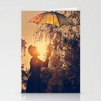 Sunshine Umbrella Stationery Cards