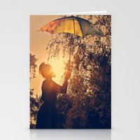 Sunshine Umbrella Stationery Cards
