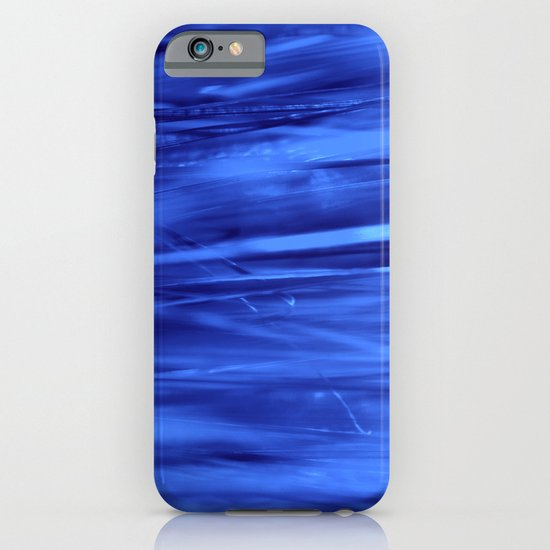blue lines abstract I iPhone & iPod Case