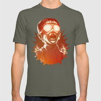 FIREEE! Mens Fitted Tee Lieutenant SMALL
