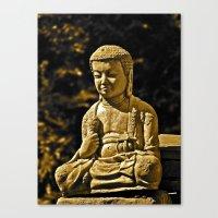 Mr. Peaceful Canvas Print