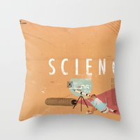 Science- Fun For All Age… Throw Pillow