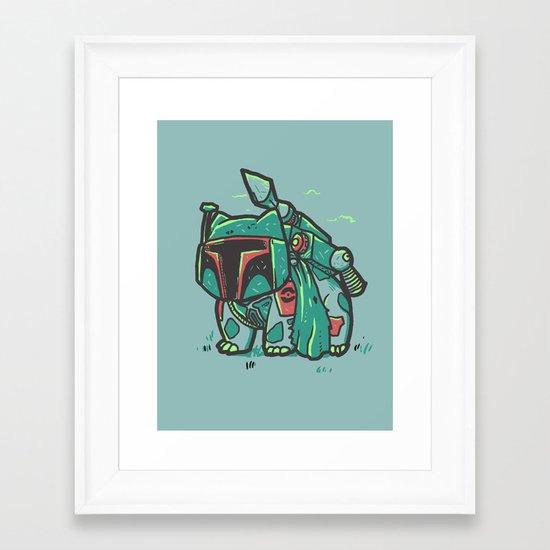 BulbaFett Framed Art Print
