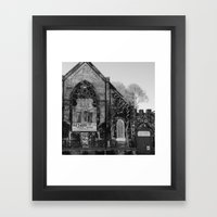 Abandoned Church in Chicago Framed Art Print