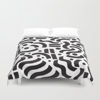 ABSTRACT 0018 Duvet Cover
