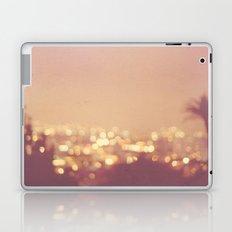 Summer Nights. Los Angeles at night photograph. Laptop & iPad Skin