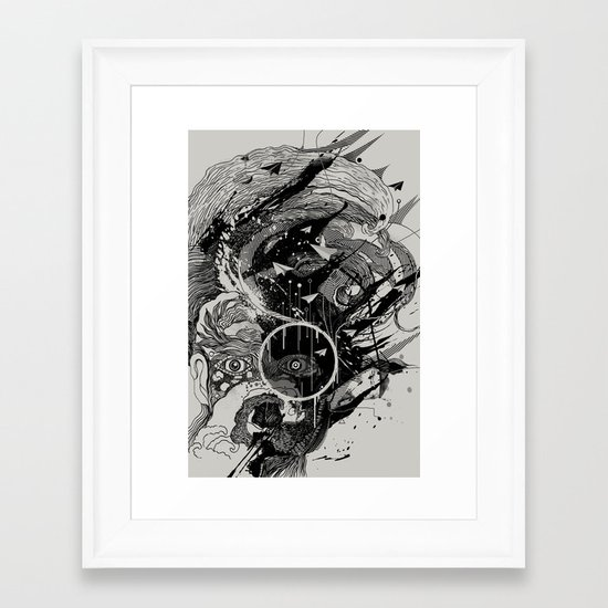 W.A.V.E. Framed Art Print
