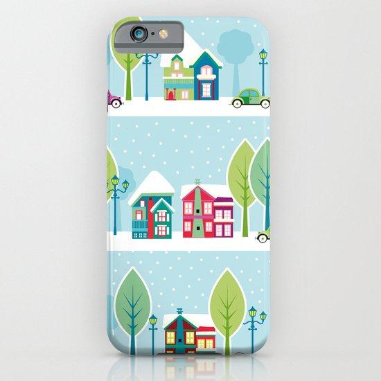 Ski house iPhone & iPod Case