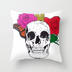 Skull I Throw Pillow