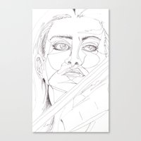 Feeling The Passion Canvas Print
