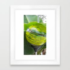 Lime Jello Framed Art Print