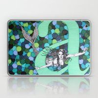 Mermaid A Laptop & iPad Skin