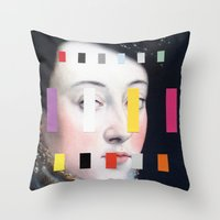 Portrait With A Spectrum… Throw Pillow