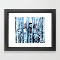 CRY STAL KNIGHT Framed Art Print