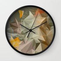 Hall of mirrors Wall Clock