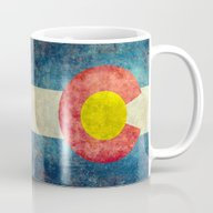 Colorado State Flag Mug