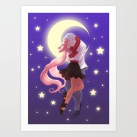 Sailor Moon - Helios And… Art Print