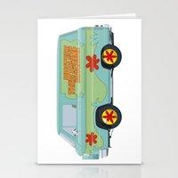 Mystery Machine - Scooby-Do!  I/III Stationery Cards