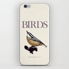 BIRDS 01 iPhone & iPod Skin