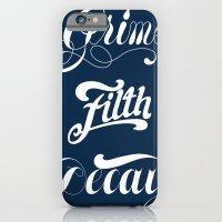 Grimey Type. iPhone 6 Slim Case