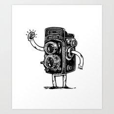 Self-Selfie Art Print