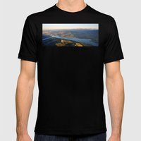 Soaring At Dawn II Mens Fitted Tee Black SMALL