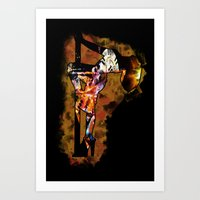 The Lap Dancer Art Print