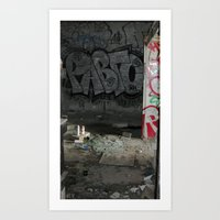 Demolished Providence Art Print