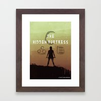 The Hidden Fortress Framed Art Print