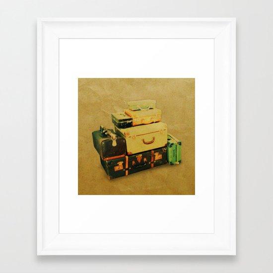 Time to Leave Framed Art Print