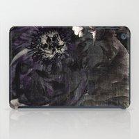 goth peony iPad Case