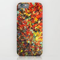 END OF THE RAINBOW - Bold Multicolor Abstract Colorful Nature Inspired Sunrise Sunset Ocean Theme iPhone 6 Slim Case