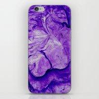 Purple Two iPhone & iPod Skin