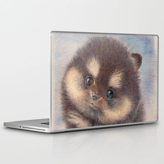 Pomeranian Laptop & iPad Skin