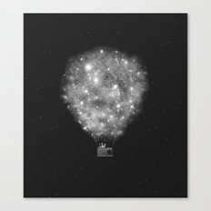 Supernova Sky Ride Canvas Print