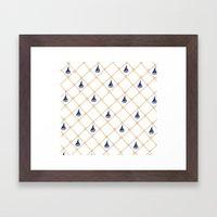 Netting Framed Art Print