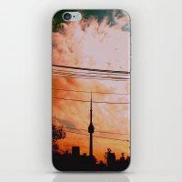 fire sky iPhone & iPod Skin