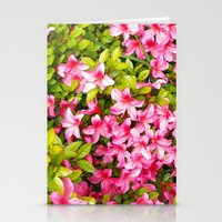Colorful Garden Flowers,… Stationery Cards