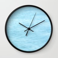 Colors Of The Sea Water … Wall Clock