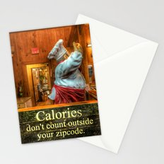 Calories Don't Count Stationery Cards