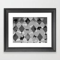 Argyle Frenzy In Highlig… Framed Art Print