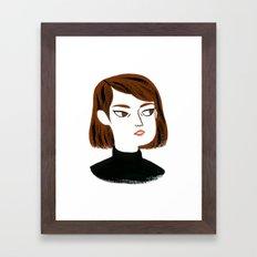 Epic side eye Framed Art Print