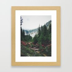 Mountain Trails Framed Art Print