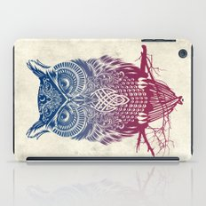 Evening Warrior Owl iPad Case