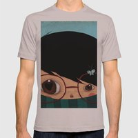 Blinking Mens Fitted Tee Cinder SMALL