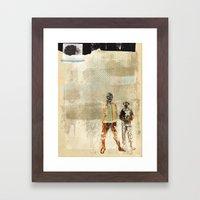 KINGDOM OF IZZNESS Framed Art Print