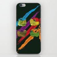 Turtle Heads iPhone & iPod Skin