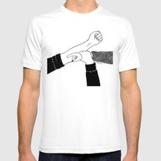 Addicted To You Mens Fitted Tee White SMALL