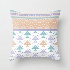 Tee-Pee Throw Pillow