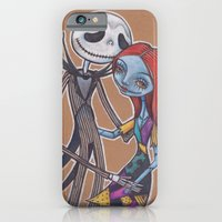 Jack and Sally iPhone 6 Slim Case